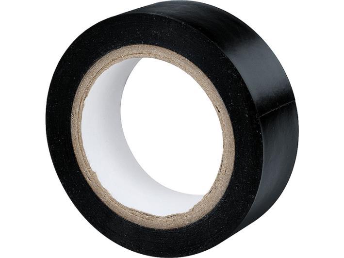 Taśma izolacyjna czarna 19x0,13mm 10metrów