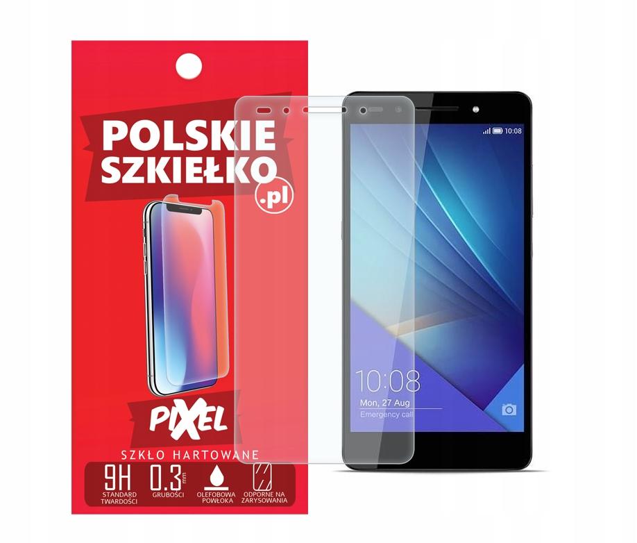 Polski Szekiełko Szkło Hartowane do Huawei Honor 7