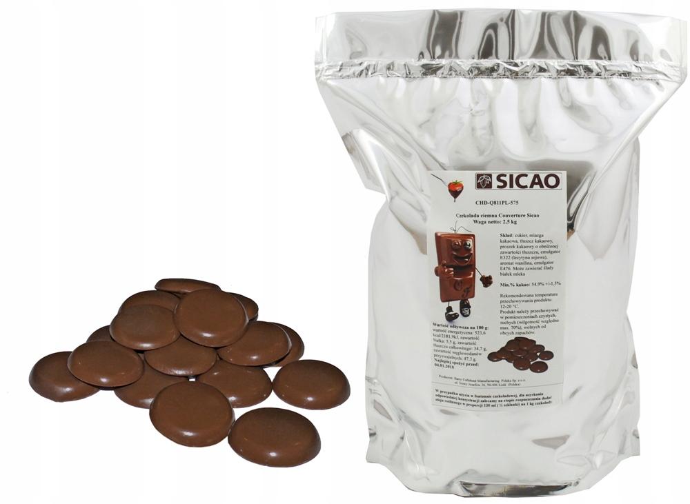 NAJLEPŠIE tmavej Čokolády 2,5 KG parné fontan