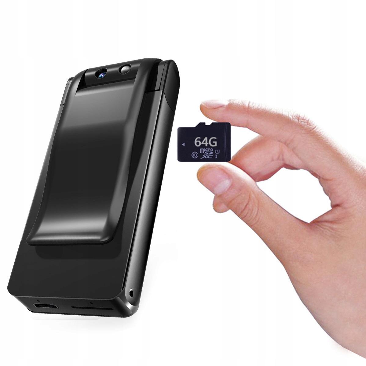 PENDRIVE MINI KAMERA USB FULL HD DYKTAFON IR LED Kod producenta UC-30