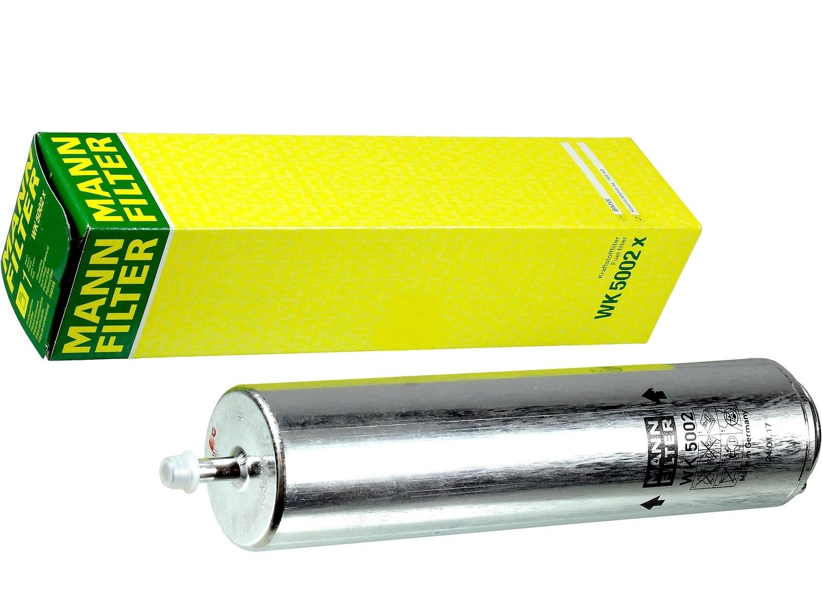 mann filter фильтр топлива wk5002x bmw 20d 30d