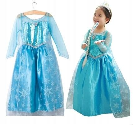 KOSTÝM kostým Karmawala ELSA Frozen, veľkosť 98-104 cm