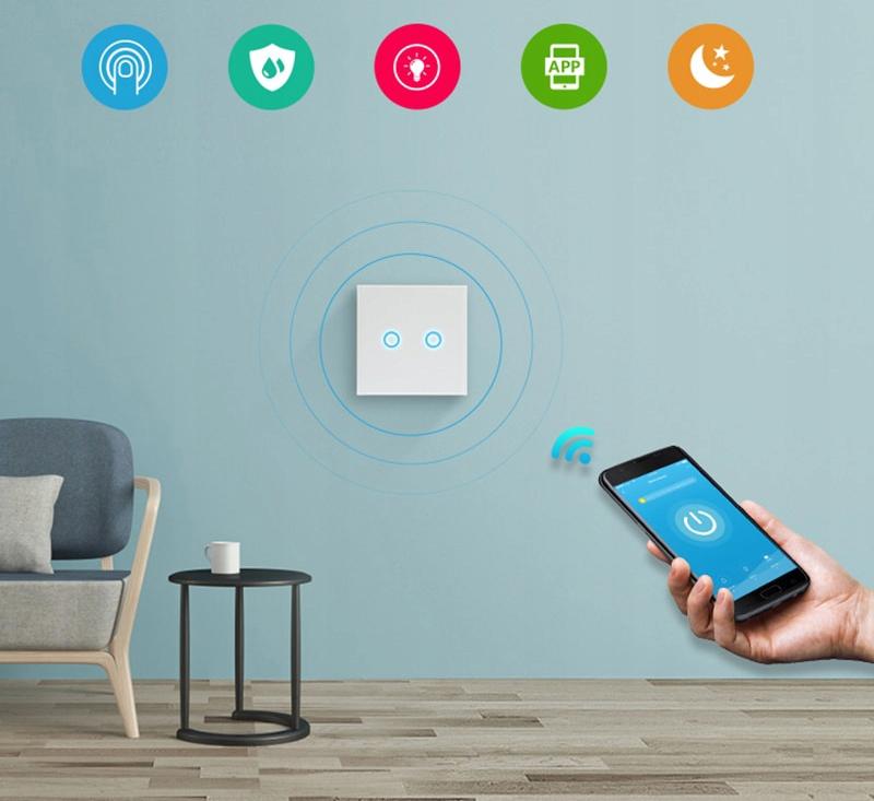 Włącznik światła NEO WIFI Alexa TUYA iOS ANDROID EAN 5902659172501