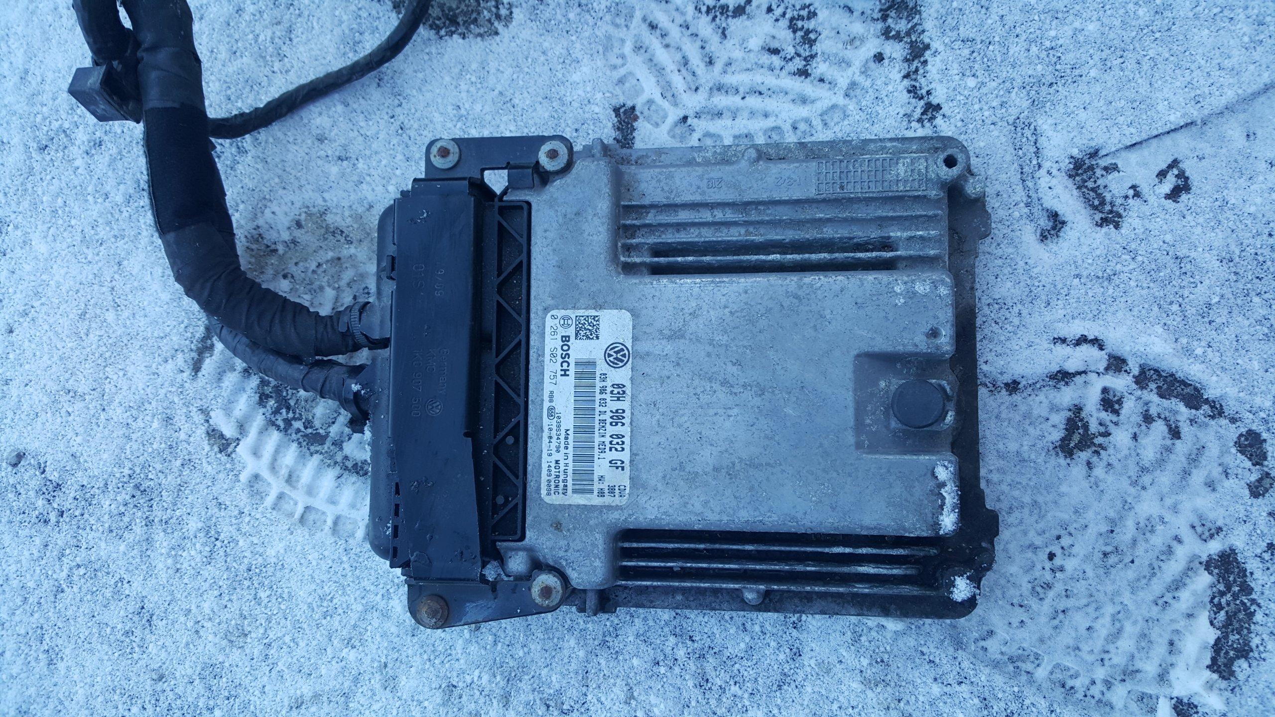 компьютер двигателя skoda superb ii 36 b 03h906032gf