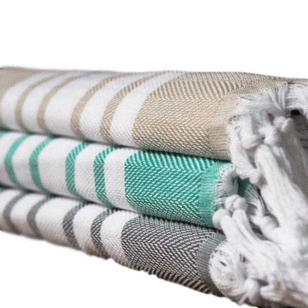 Hammam uterák, pre saunu, absorbent, svetlo, bavlna
