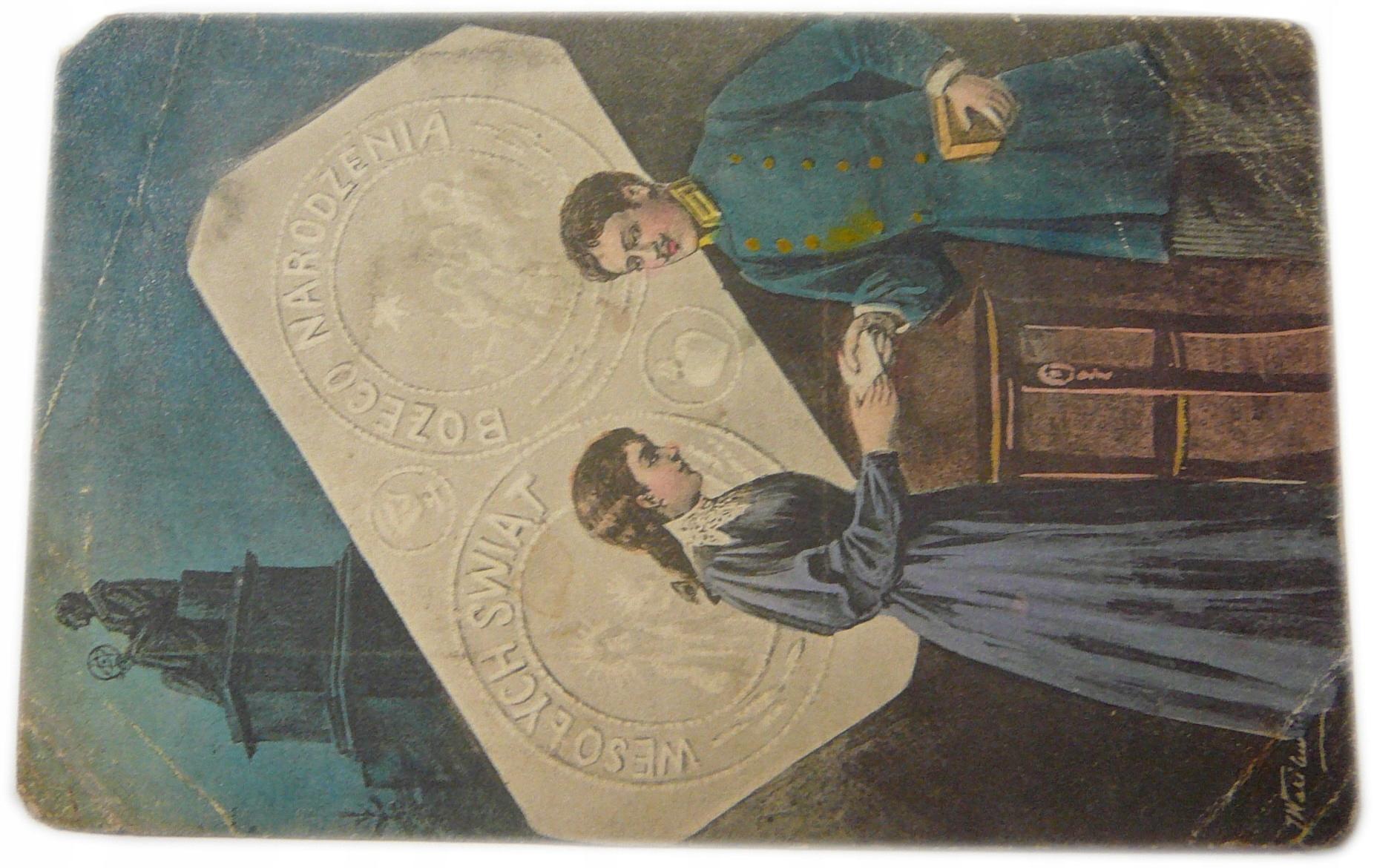 Vianočná pohľadnica 1912