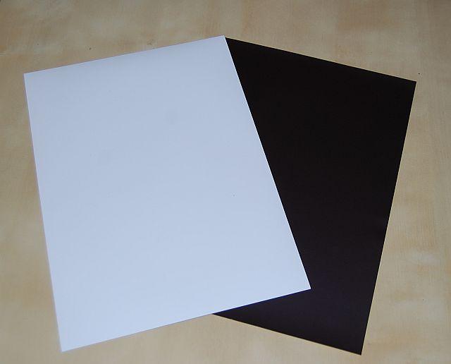 магнитная магнитная бумага, матовая А4 - 5 шт.
