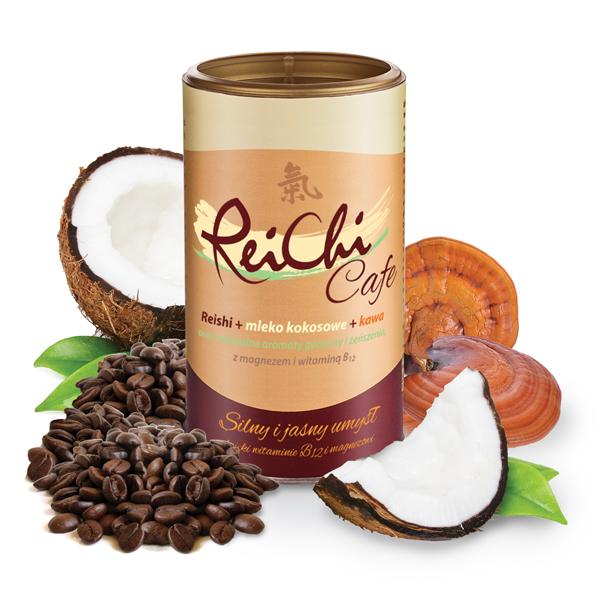 Dr. Jacobs Rei-Chi Kaviareň kokosový stimulácia 400 g