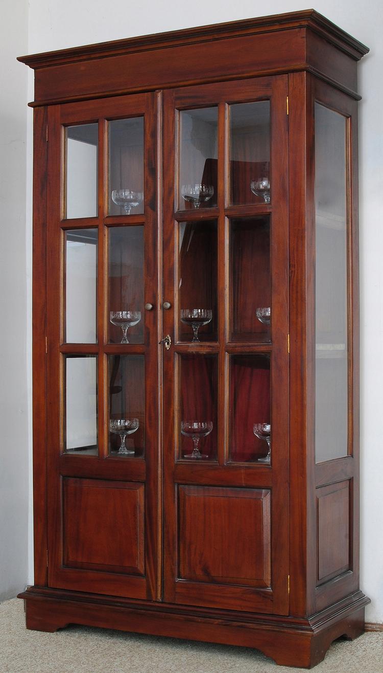 Стильная витрина продемонстрированы английская колониальная 78178