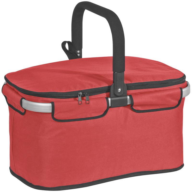Skladací nákupný košík, piknik taška izolácia