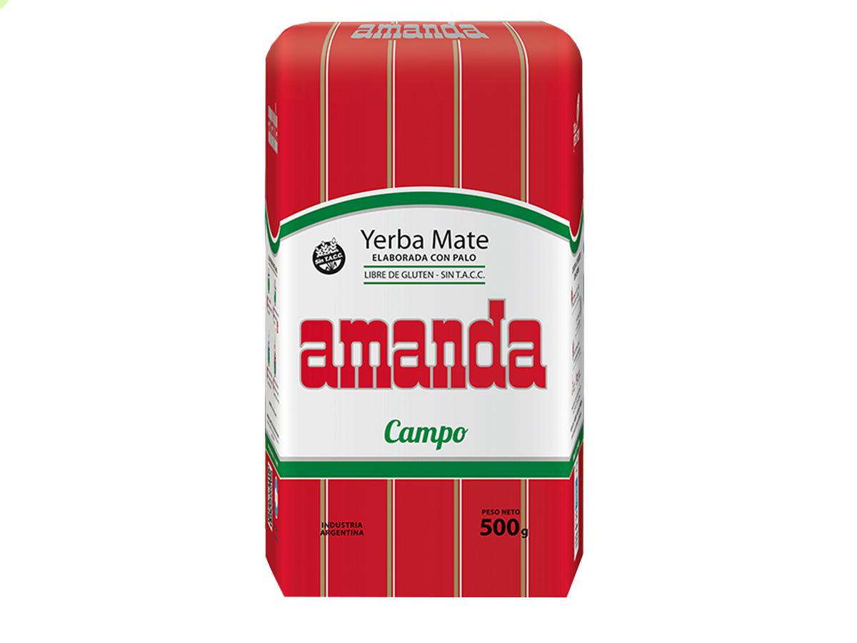 Купить Yerba Mate АМАНДА CAMPO КАРИТЕ SUAVE МЯГКАЯ на Eurozakup - цены и фото - доставка из Польши и стран Европы в Украину.