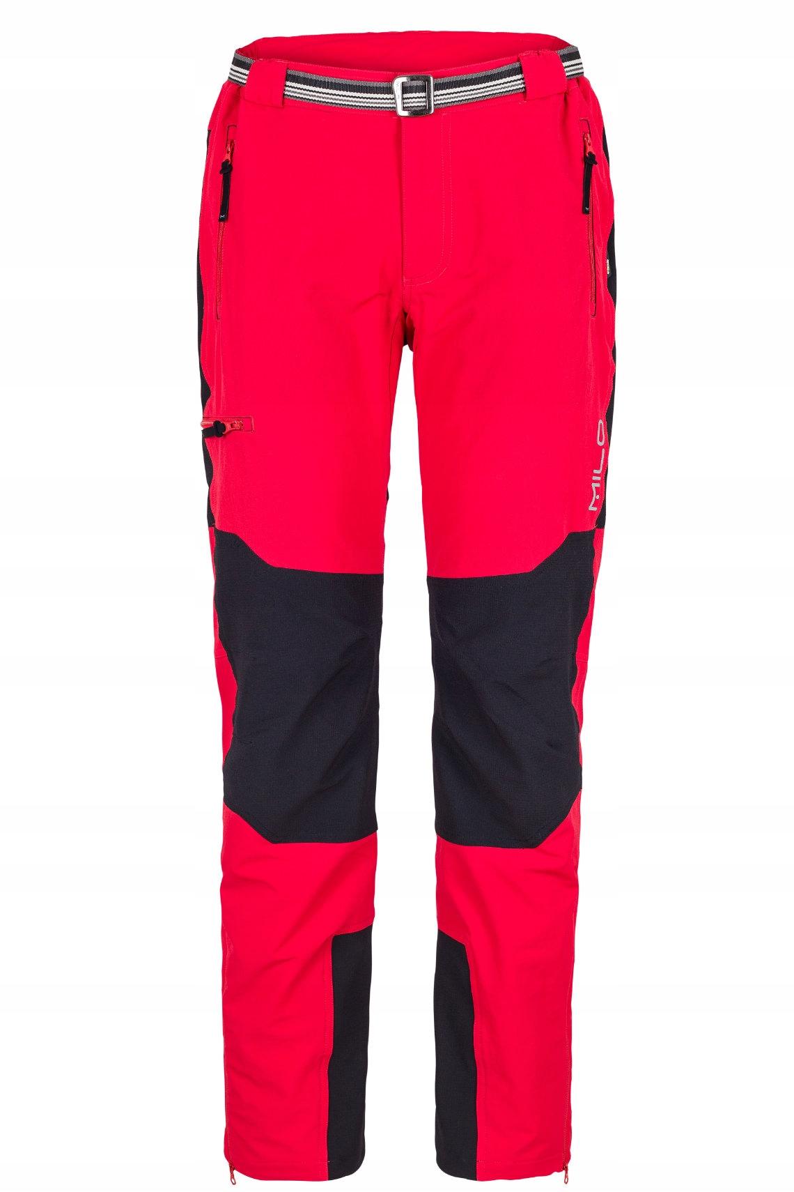 Spodnie trekkingowe Milo Brenta L red