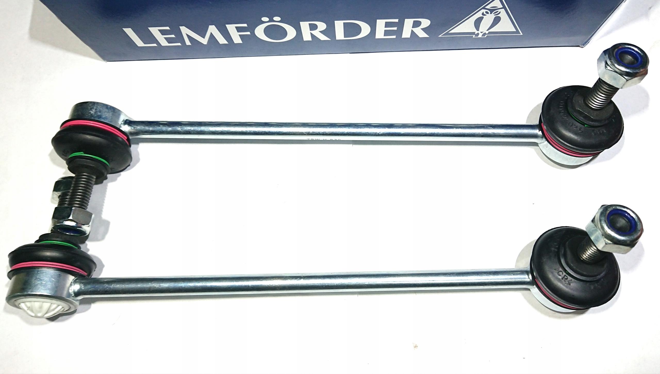 2x lemforder Крепеж стабилизатора вперед bmw e60