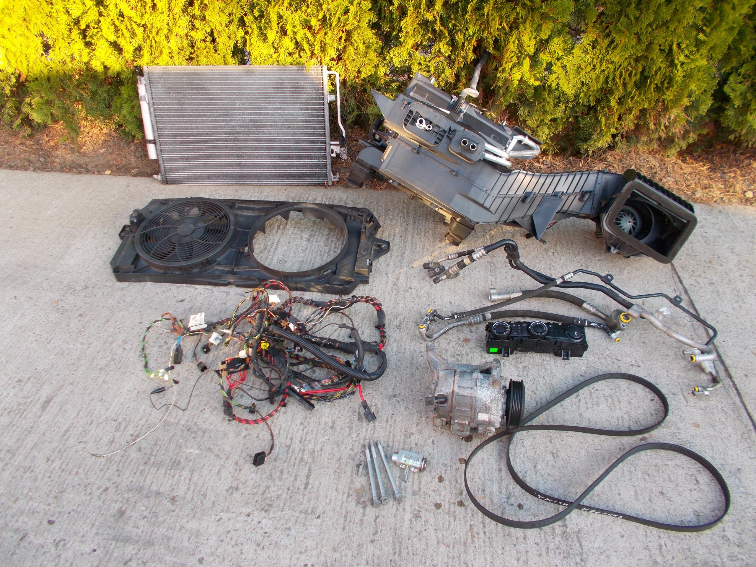 mercedes sprinter 906 30 v6 кондиционер комплект