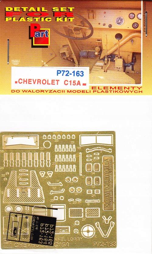 Купить Part P72-163 1/72 Chevrolet C. 15А (IBG) на Otpravka - цены и фото - доставка из Польши и стран Европы в Украину.