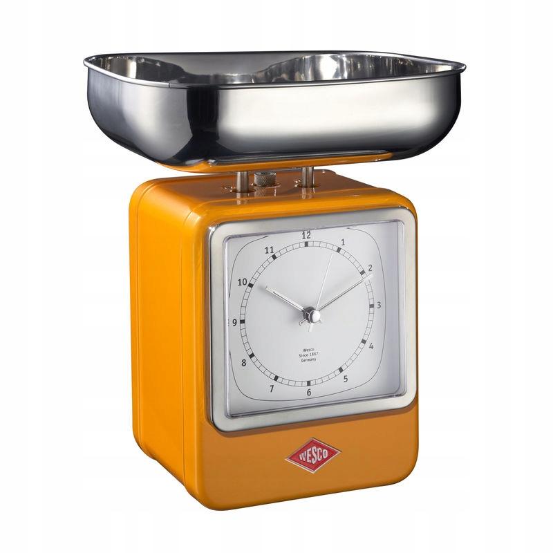 Hmotnosť 4 kg s časovač Wesco Retro V-322204-25
