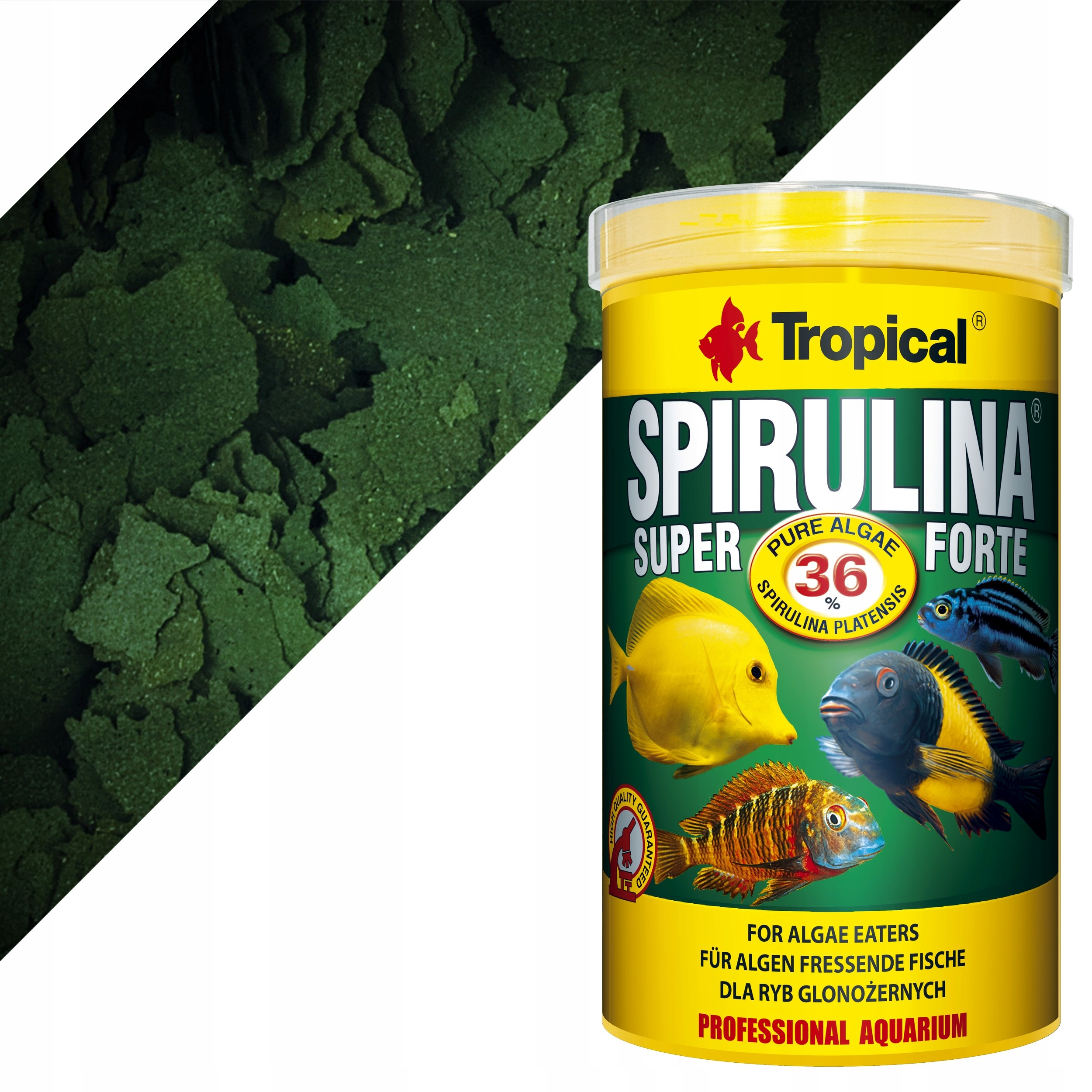 TROPICAL SPIRULINA SUPER FORTE 36% XL 2000 ml.