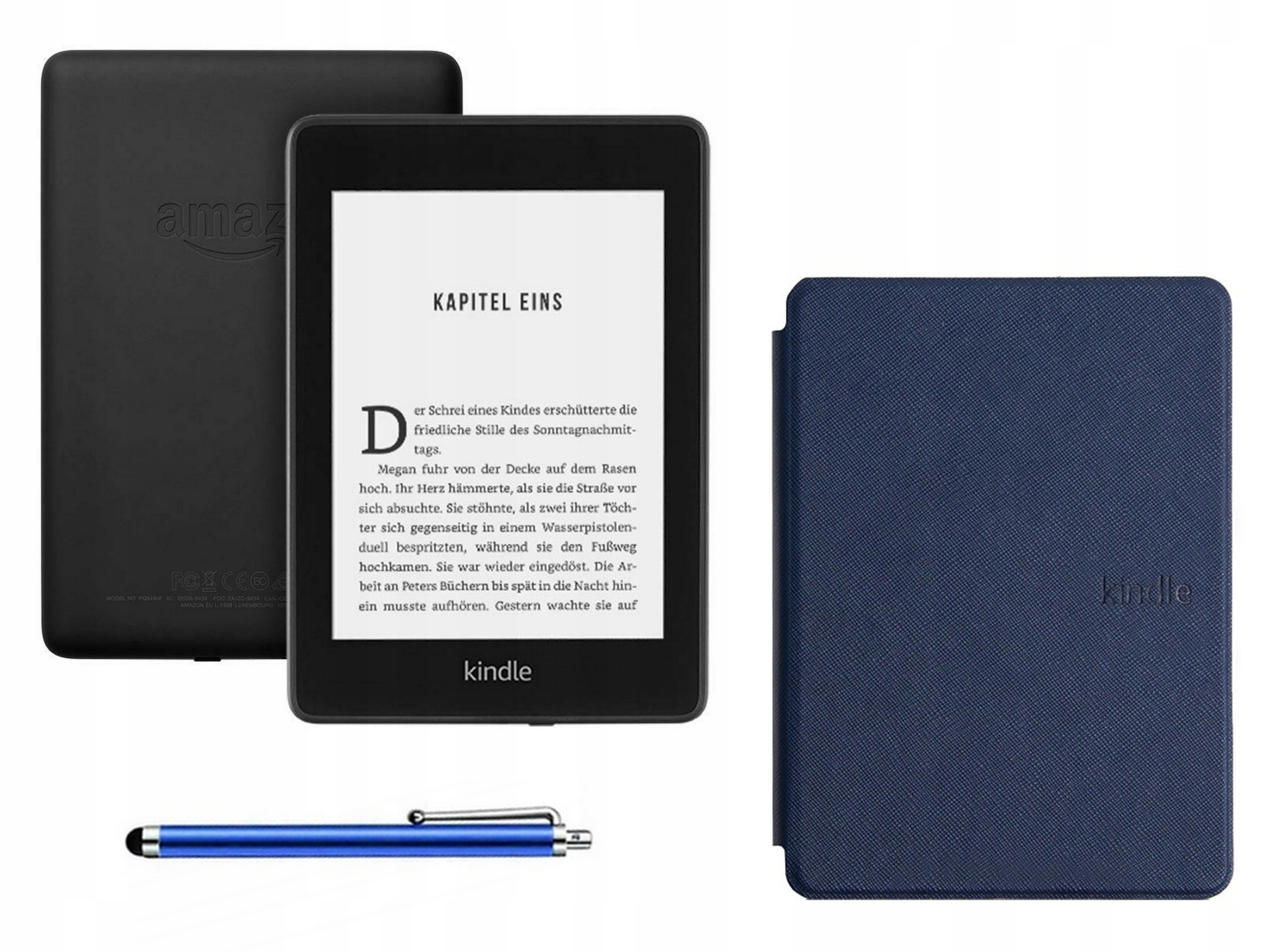KINDLE PAPERWHITE IV 4 8GB BEZ REKLAM 2018 i etui