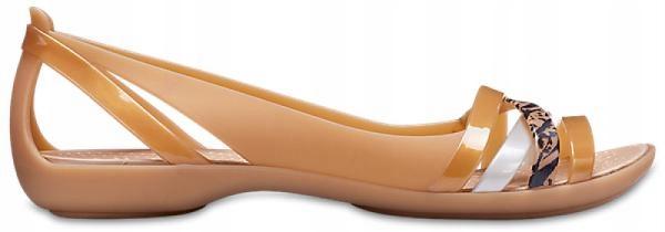 cała kolekcja przemyślenia na temat Los Angeles Sandały Crocs Isabella Huarache 2 złote 37,5