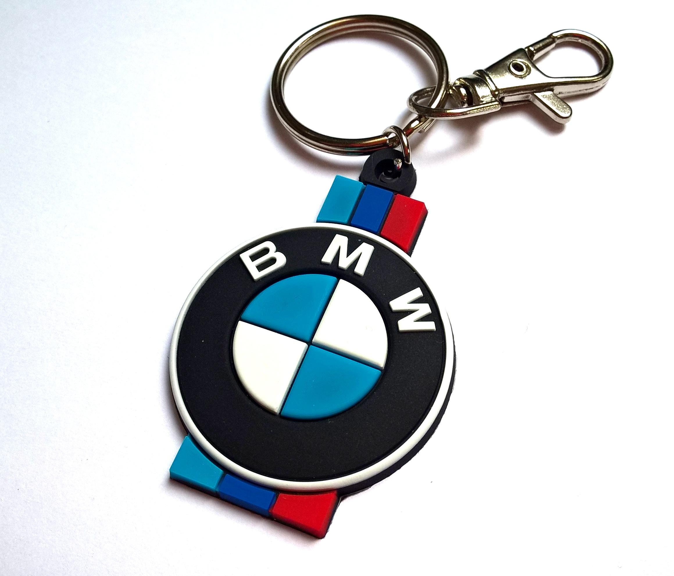 Brelok BMW do kluczy gumowy breloczek e36 e39 2 st
