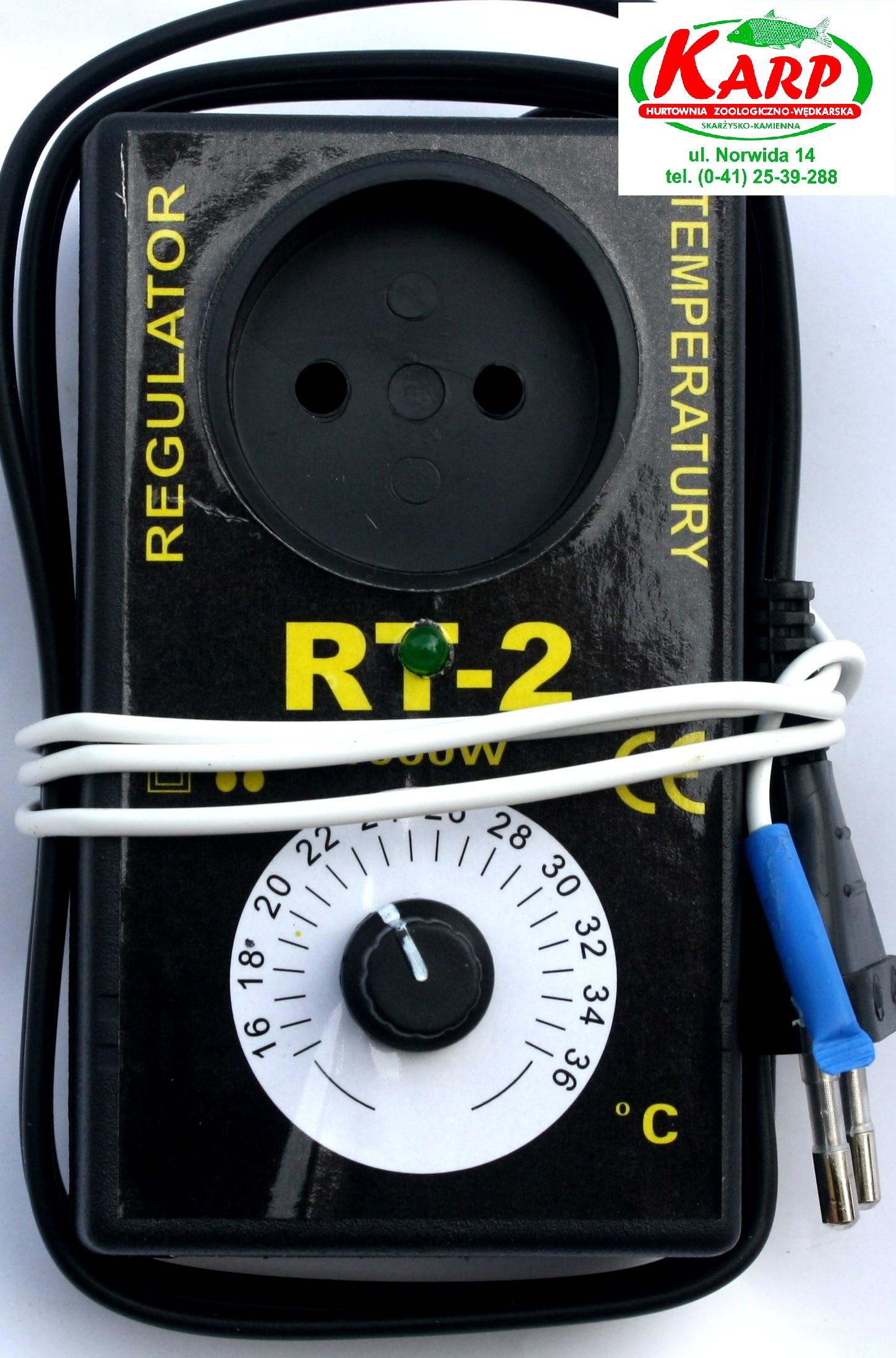 RT-2 Termoregulačný regulátor teploty