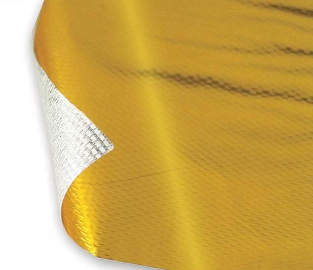 Самоклеящийся золотой термозащитный экран 900C 50x50см
