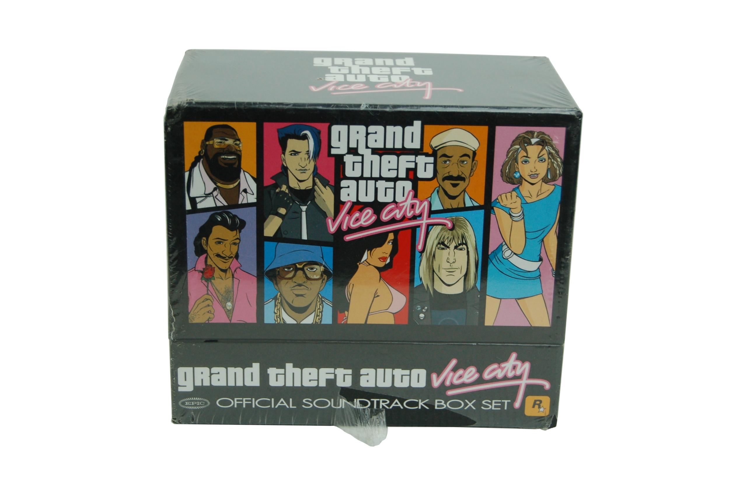 grand theft auto soundtrack box set