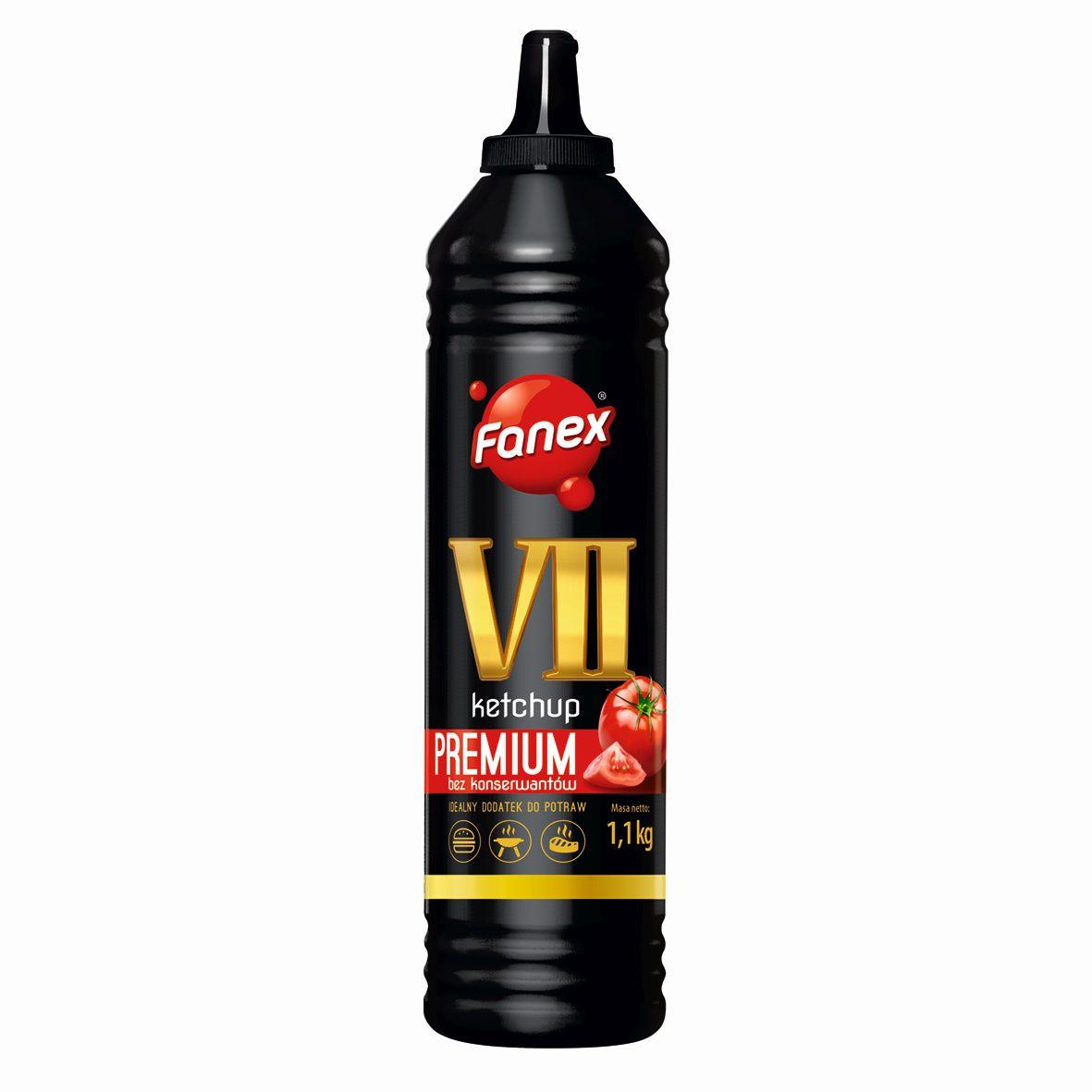 [SF] Кетчуп Vii 7 Premium 1100g Fanex