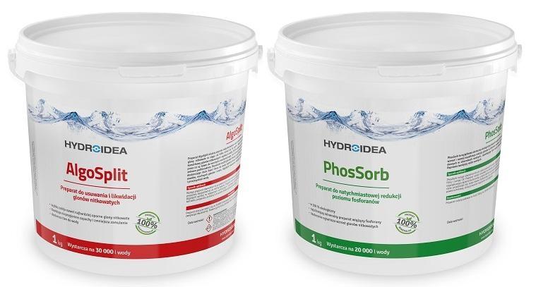 PhosSorb 1 кг + AlgoSplit 1 кг ДЛЯ БОРЬБЫ С ВОДОРОСЛЯMI
