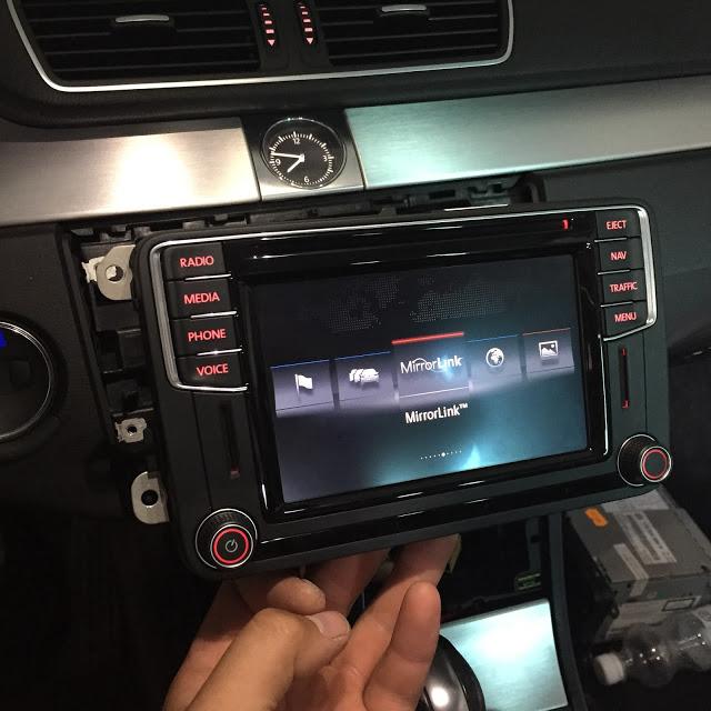 навигация радио vw skoda discover pq приложение connect