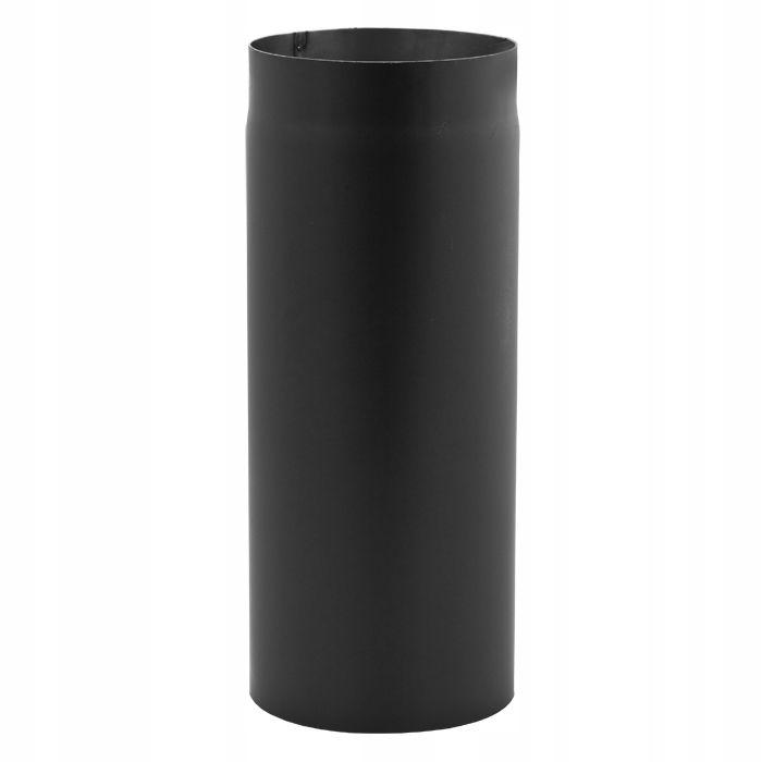 POTRUBIE, oceľ, čierna, spaľovací plyn, 0,5 m fi 180, 50 cm