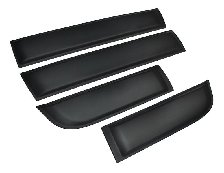 планки защитные двери dacia duster комплект 4 шт