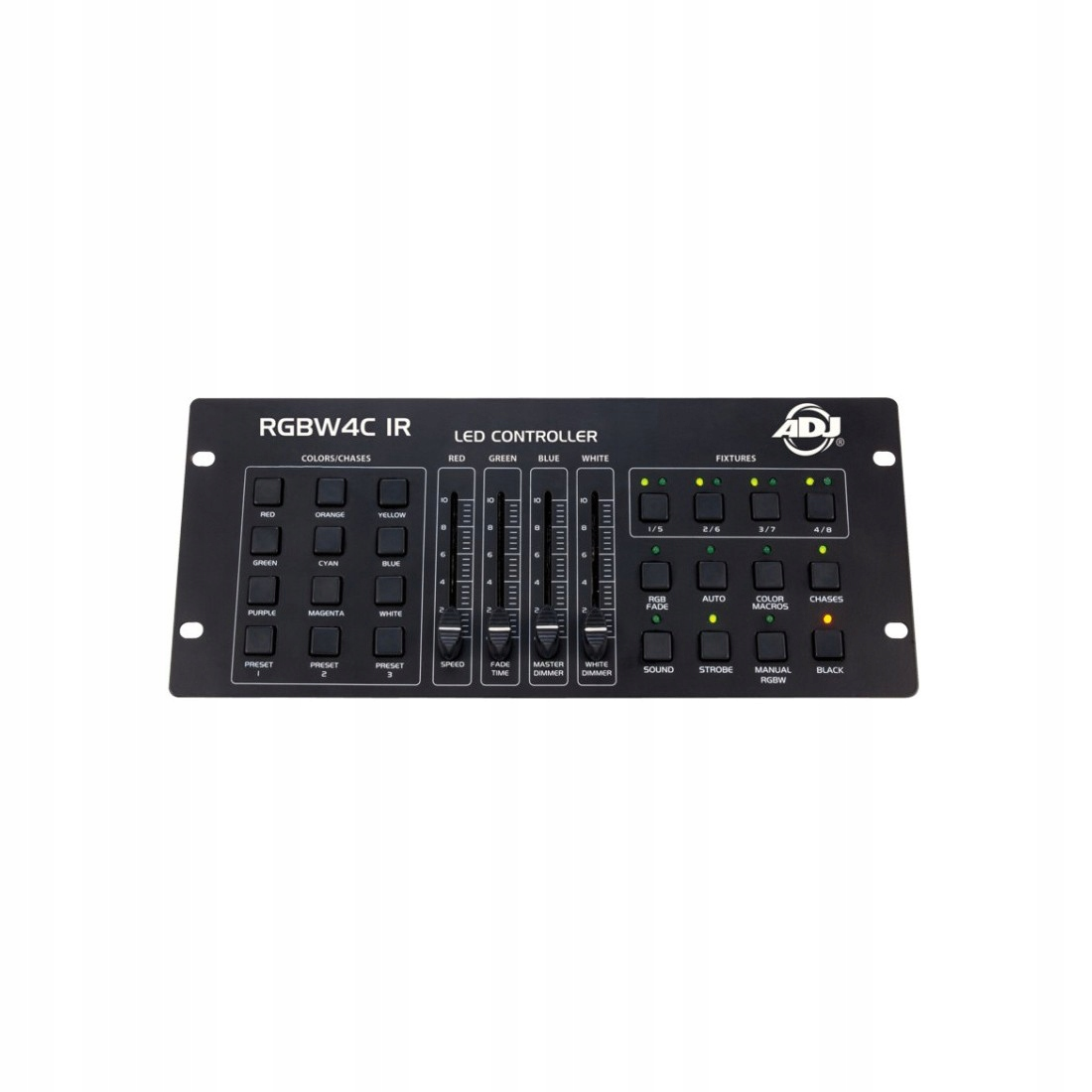 Jednoduchý RGBW4C IR American DJ LED ovládač