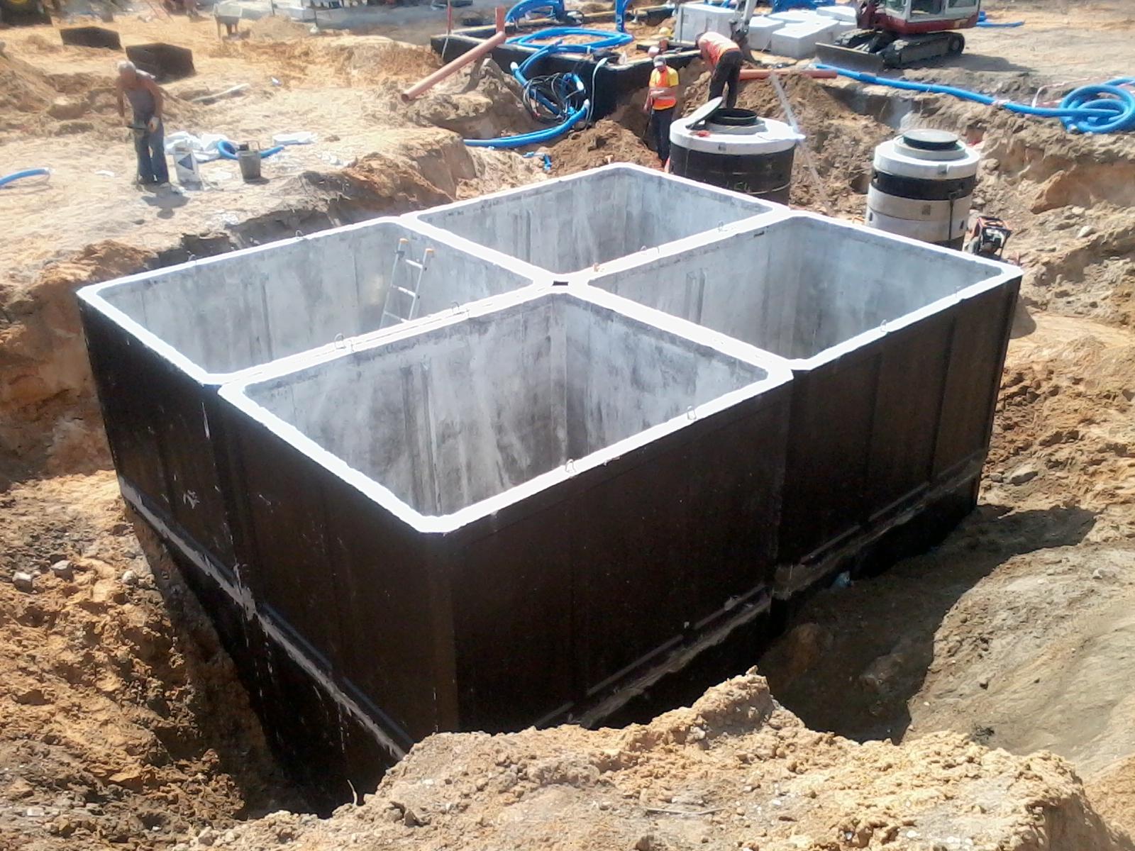 Groovy Szczelne szamba betonowe cała Polska 2-12m3 -Atest 7136210604 PM74