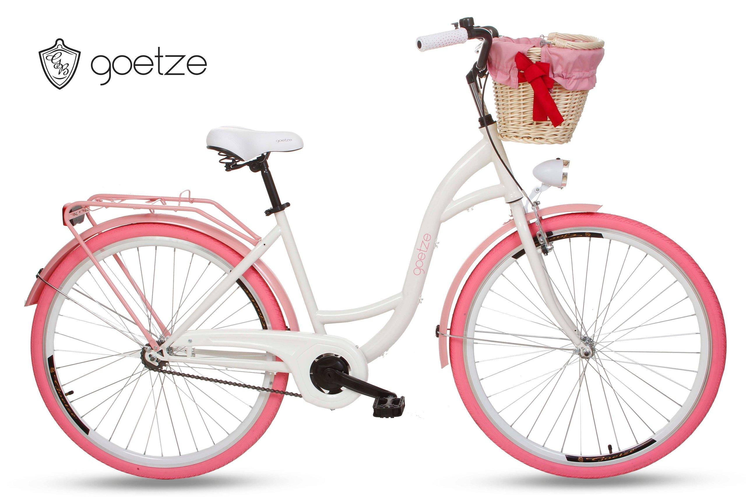 Ženské city Bike Goetze 28 ČUČORIEDKA kôš