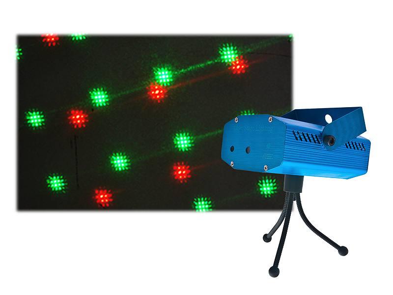 3D Disco Laser + Bass Sensor + Nastavenie