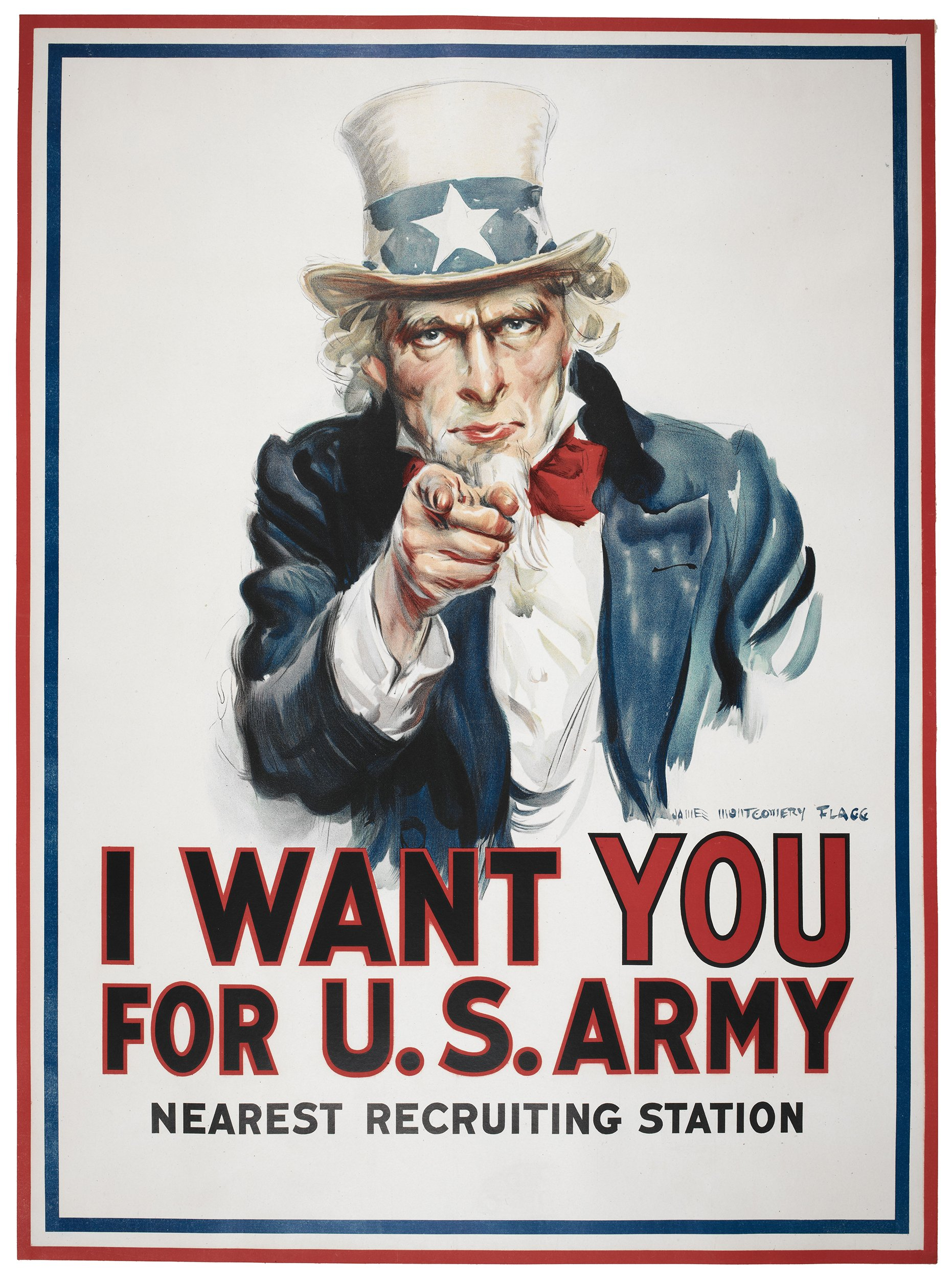 plakat WUJ SAM I Want You for US Army!