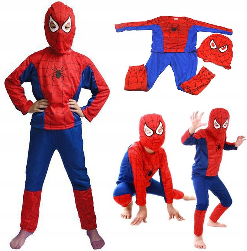 * Маска-костюм человека-паука 104 110 116 122