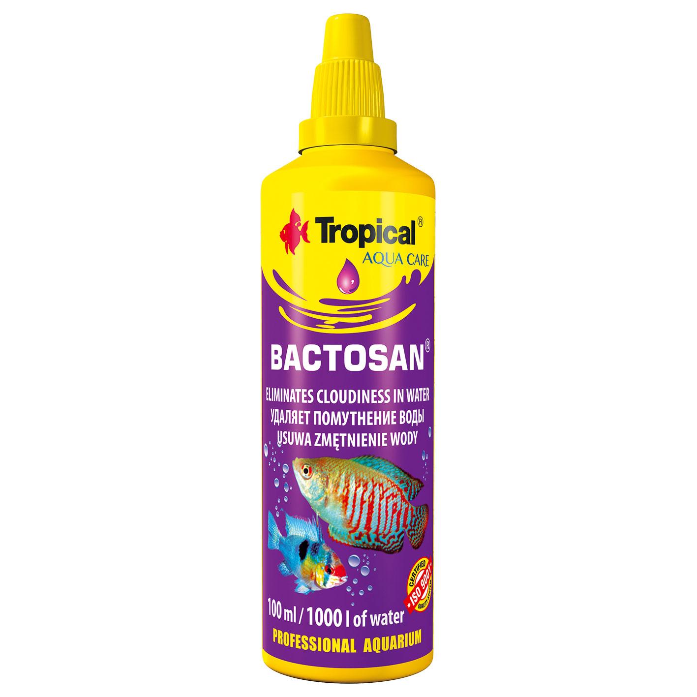 Tropical BACTOSAN 100мл - эффективно уточняет воду