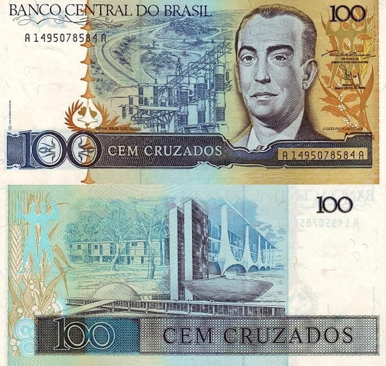 Купить # БРАЗИЛИЯ - 100 CRUZADOS -1987 - P-211 - UNC на Otpravka - цены и фото - доставка из Польши и стран Европы в Украину.