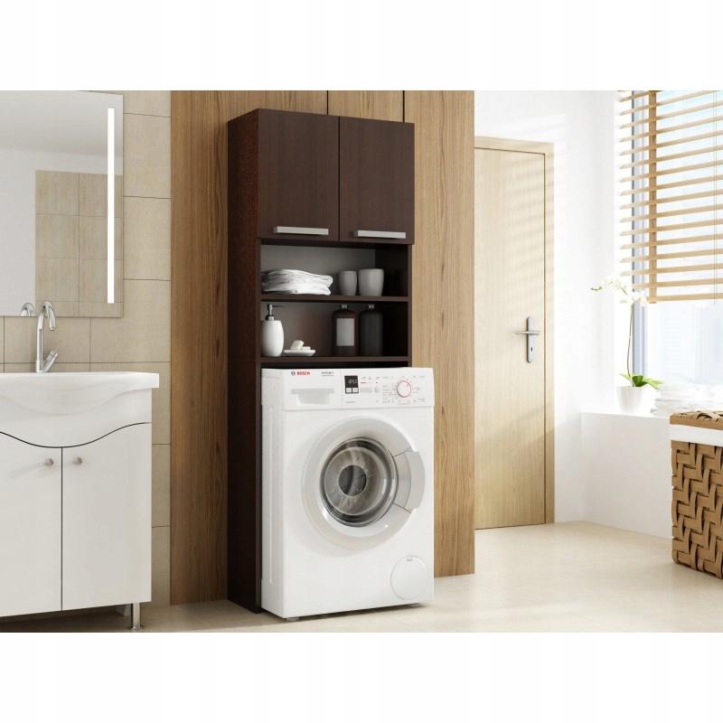 Praktická Skrinka pre kúpeľ skrinka NAD práčka! TS
