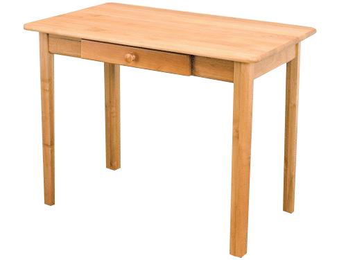 MASÍVNY stôl 80x50 so zarážkou kuchynskej linky, bar