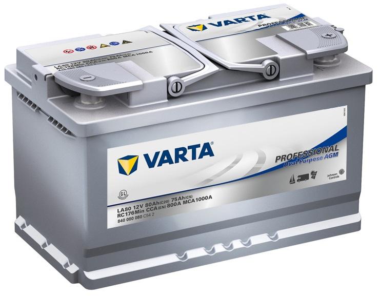 Купить Akumulator 80AH/800A P+ VARTA LA80 AGM kampery на Otpravka - цены и фото - доставка из Польши и стран Европы в Украину.
