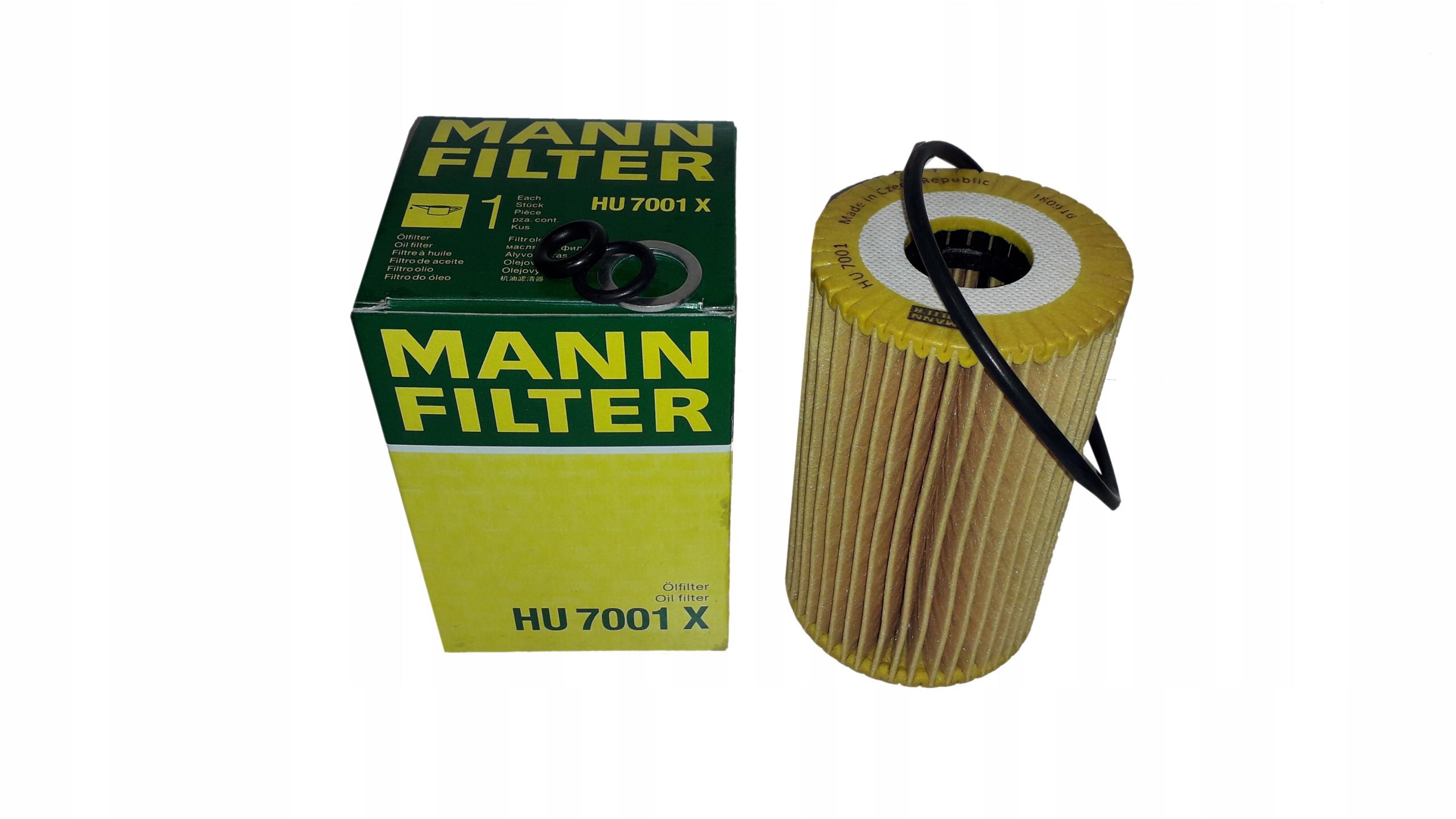 Mann Filter HU7001X Filtre /à huile