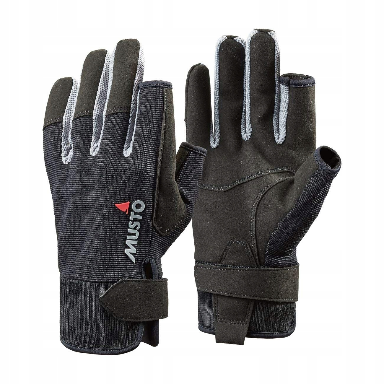 Plachtenie rukavice MUSTO - AUGL002 Black LF.XL