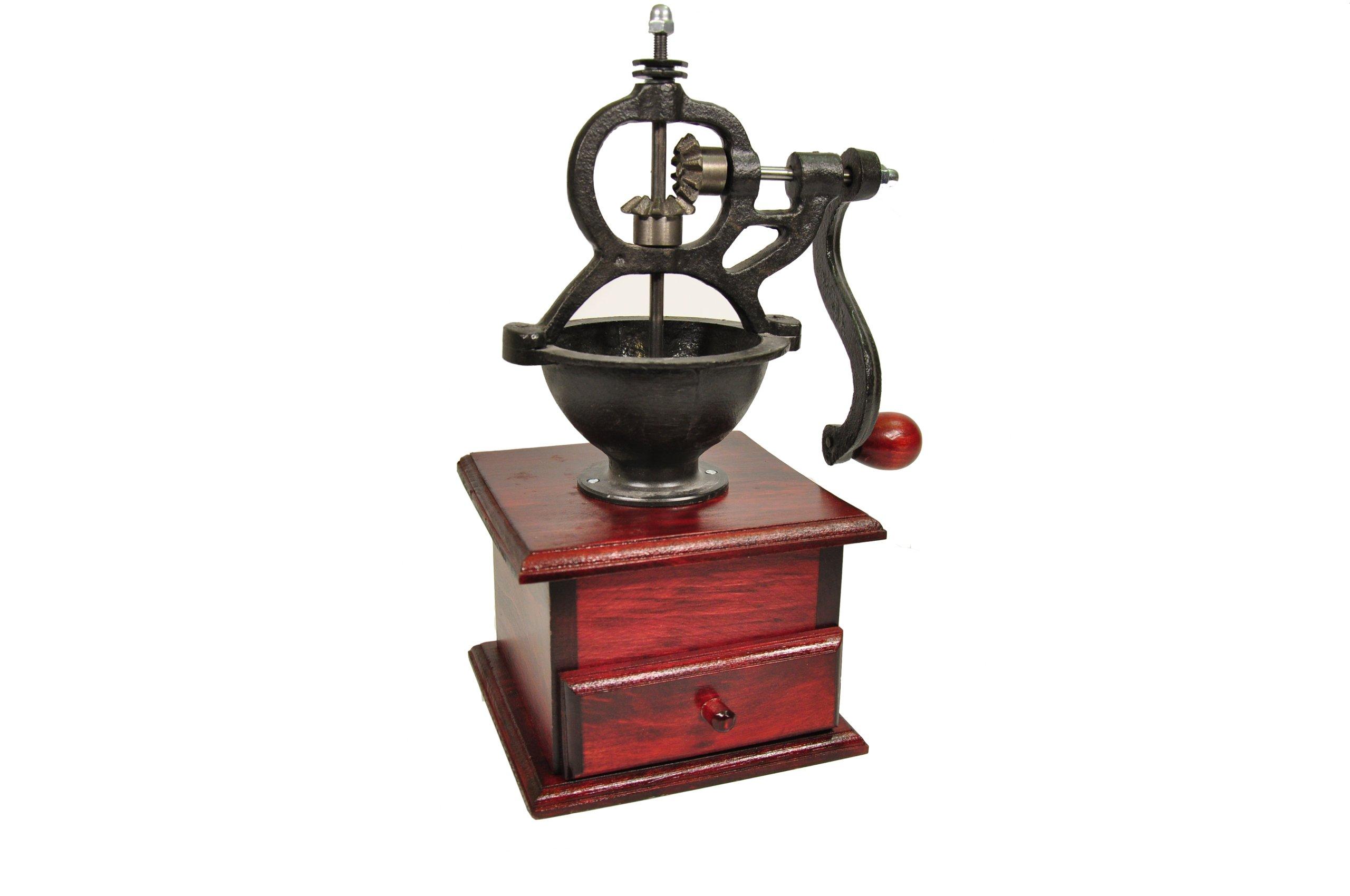 Veľké RETRO mlynček na mletie kávy, korenia