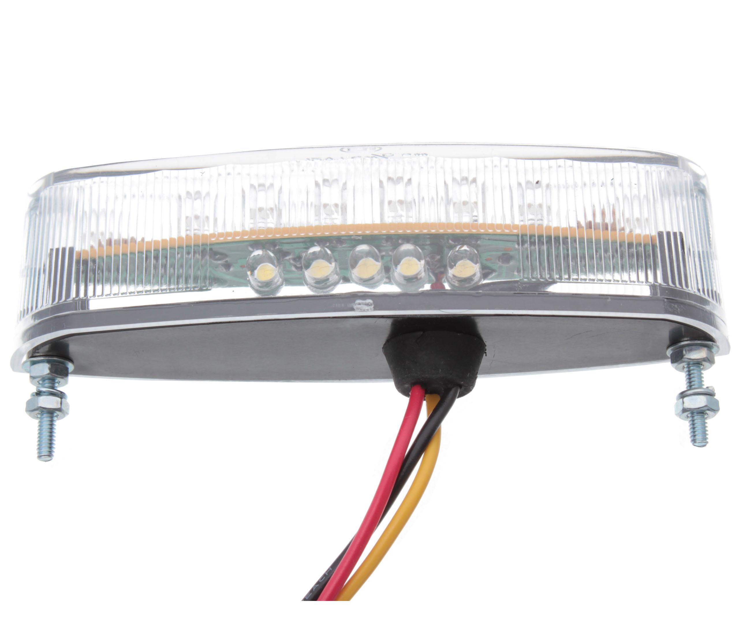 ATV zibintas (lempos-faros) galas galine trapecija led 21 led LED CLEAR