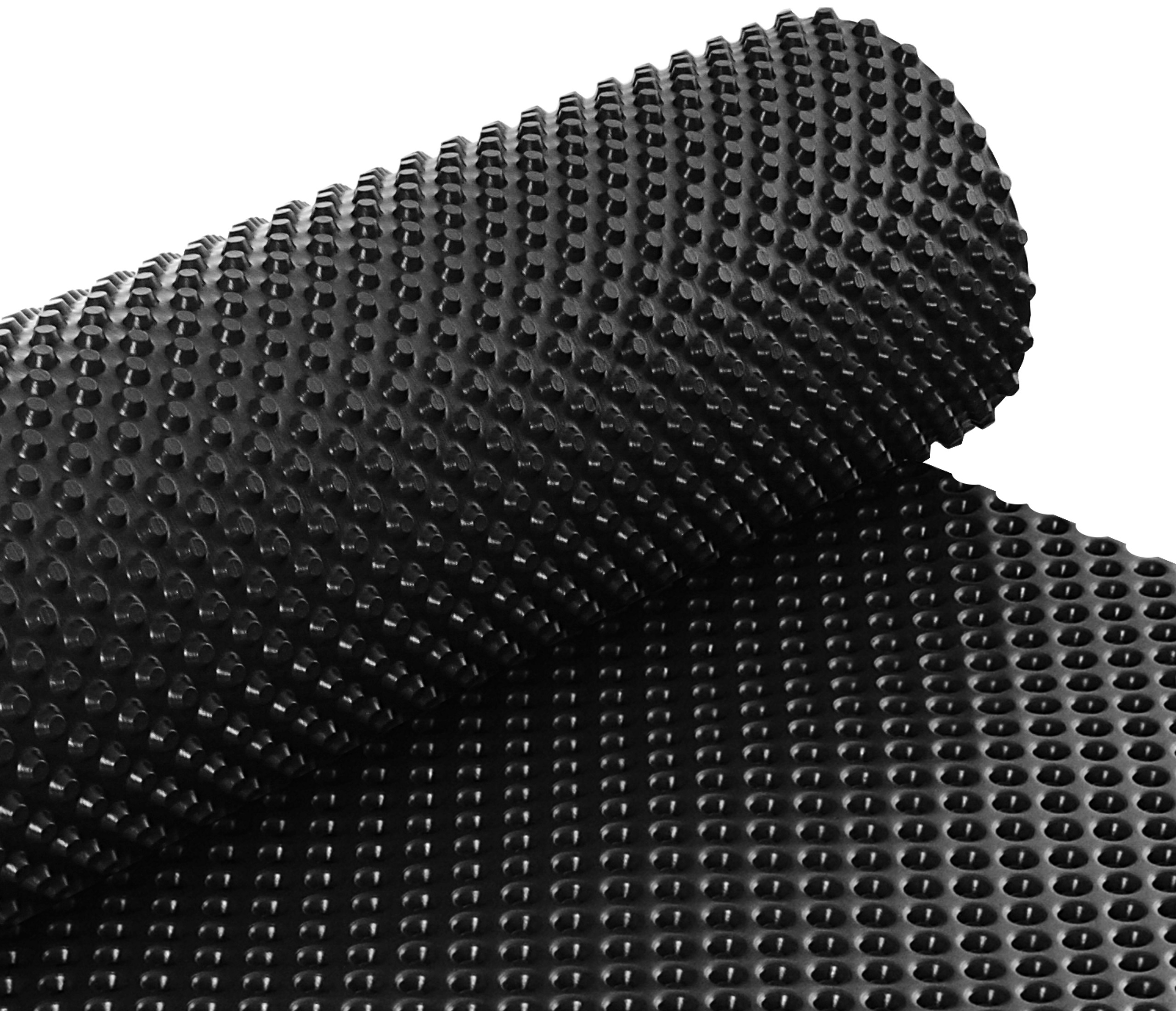 Folia Kubełkowa fundamentowa 1,5m x 20mb 400g/m2