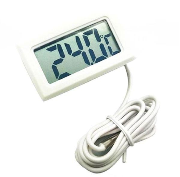 LCD Digitálny teplomer s senzorom s batériou_1m