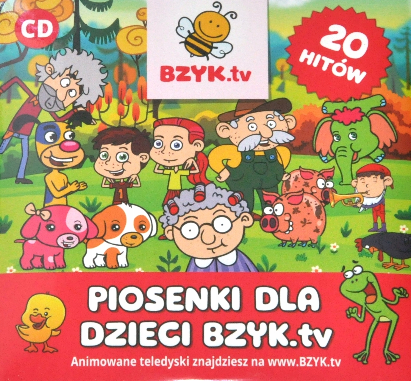 Item Songs for children-CD songs channel BZYK.tv